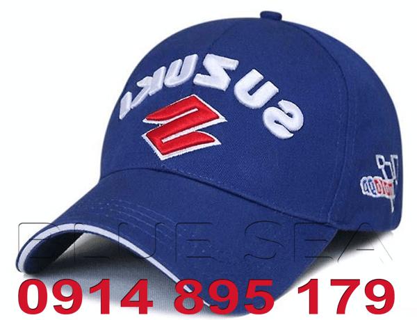 Mẫu nón in logo công ty của nhà cung cấp nón lưỡi trai BLUE SEA