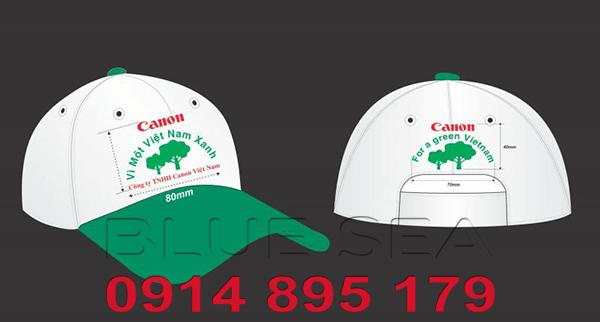 Thiết kế mũ lưỡi trai cho công ty du lịch giá rẻ - ảnh 1