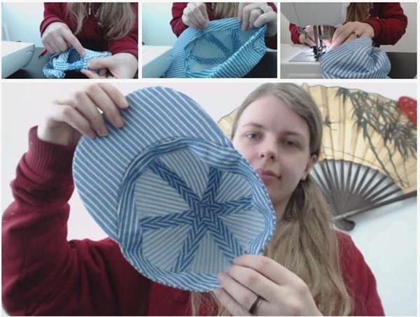 Cách làm nón lưỡi trai, các bước làm nón lưỡi trai - ảnh 10