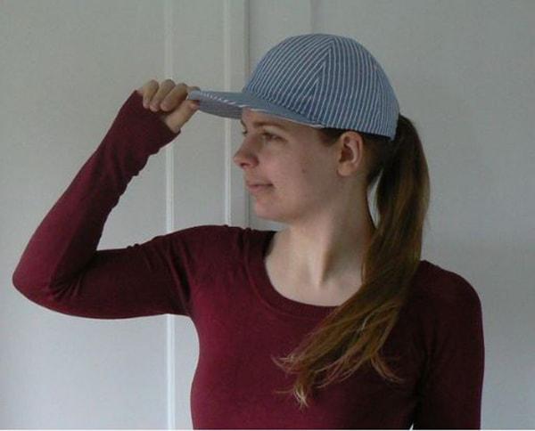 Cách làm nón lưỡi trai, các bước làm nón lưỡi trai - ảnh 11