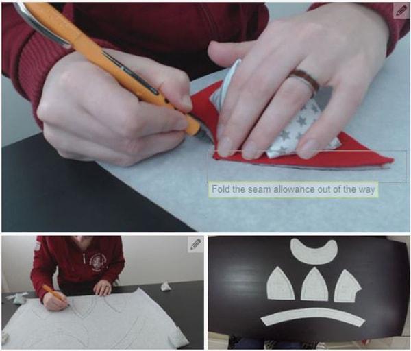 Cách làm nón lưỡi trai, các bước làm nón lưỡi trai - ảnh 2