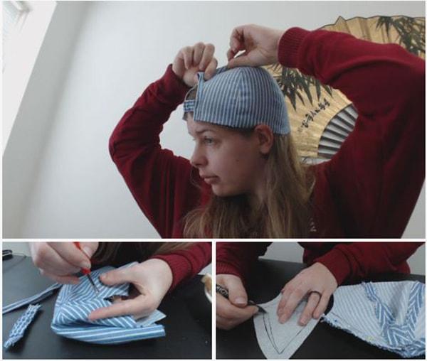 Cách làm nón lưỡi trai, các bước làm nón lưỡi trai - ảnh 5