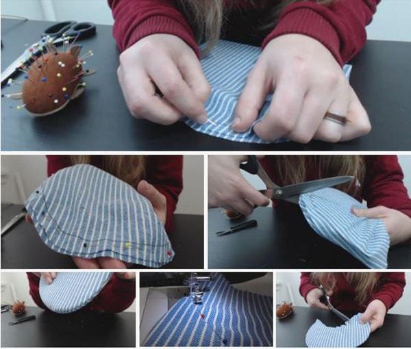 Cách làm nón lưỡi trai, các bước làm nón lưỡi trai - ảnh 8